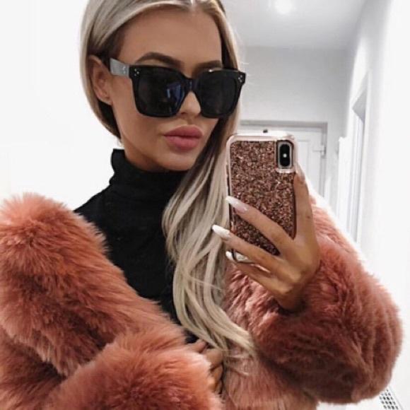 dd819eb68da Celine Accessories - Auth. Celine Chris Oversized Cat Eye Sunglasses